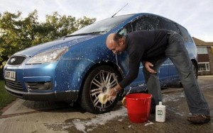 Nissan's groundbreaking technology could see washing car becoming obsolete.